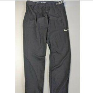 Nike Pro Pants Dri Fit Size XL Black Leggings